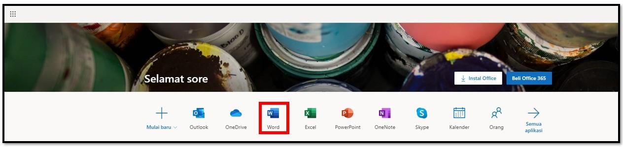 Dapatkan Office 365 gratis secara online