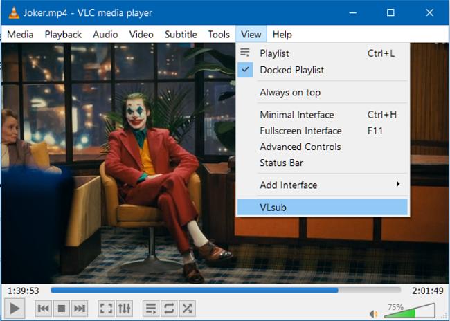 Cari Teks dengan VLC VLsub