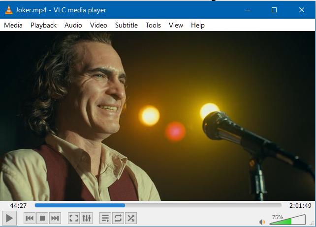 Menonton video di VLC