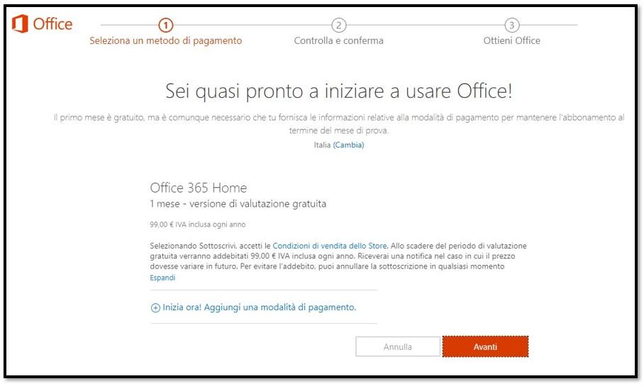 Come ottenere Office 365 gratuito