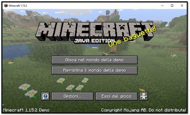 MineCraft - gioca nel mondo demo