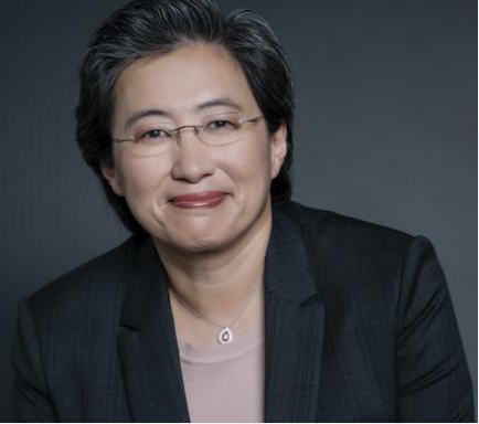 Photograph of Lisa Su smiling.