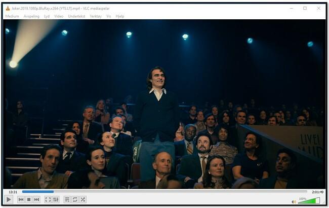Ser på videoer på VLC