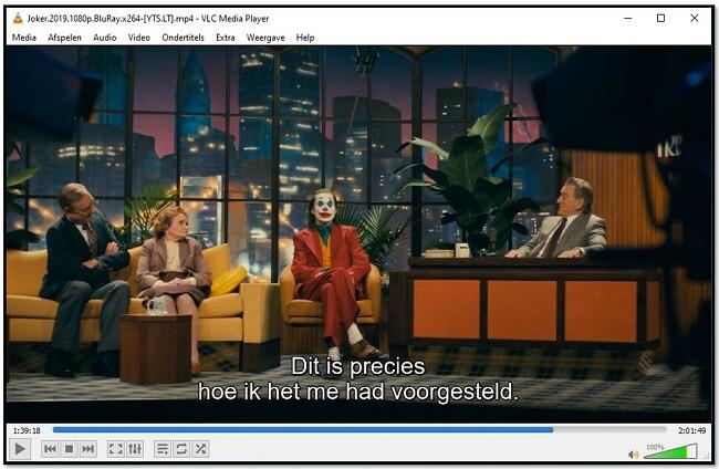Ondertiteling weergeven op VLC Media Player