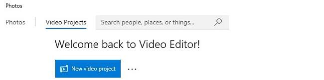 Създайте нов видео проект