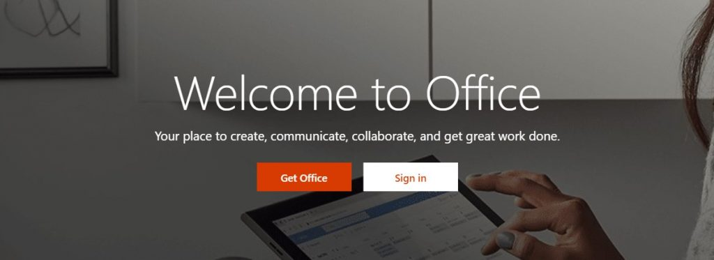 Office Home Page