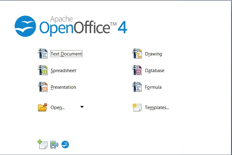 Applications OpenOffice