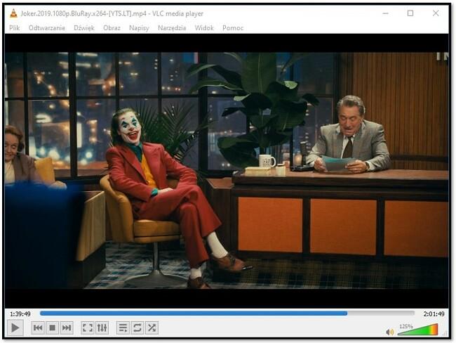 Oglądanie filmów na VLC