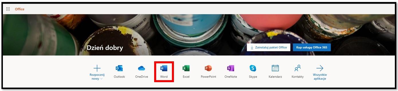 Uzyskaj Office 365 za darmo online