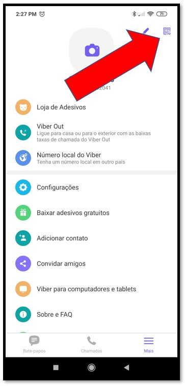 Connect Viber to Desktop