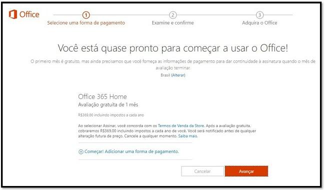 Como obter o Office 365 grátis