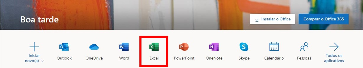 Office365 Online Version of Excel