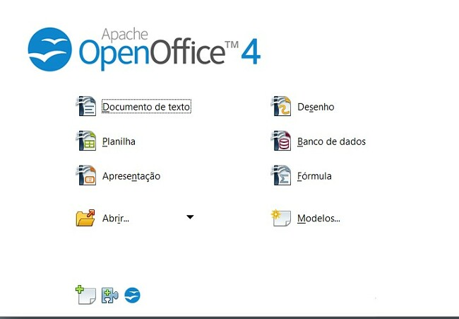 Aplicativos OpenOffice