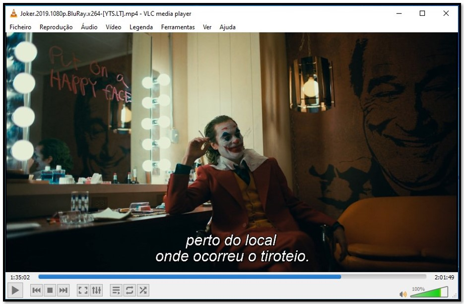 Exibindo legendas no VLC Media Player