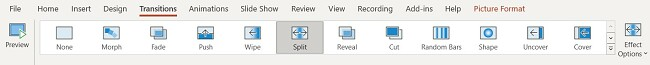 PowerPoint Transitions
