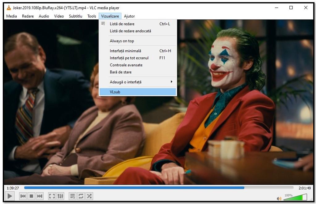 Căutați subtitrări cu VLC VLsub
