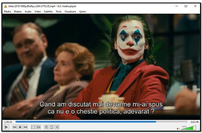 Afișare subtitrare pe VLC Media Player