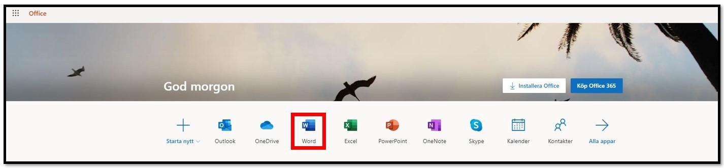 Skaffa Office 365 gratis online