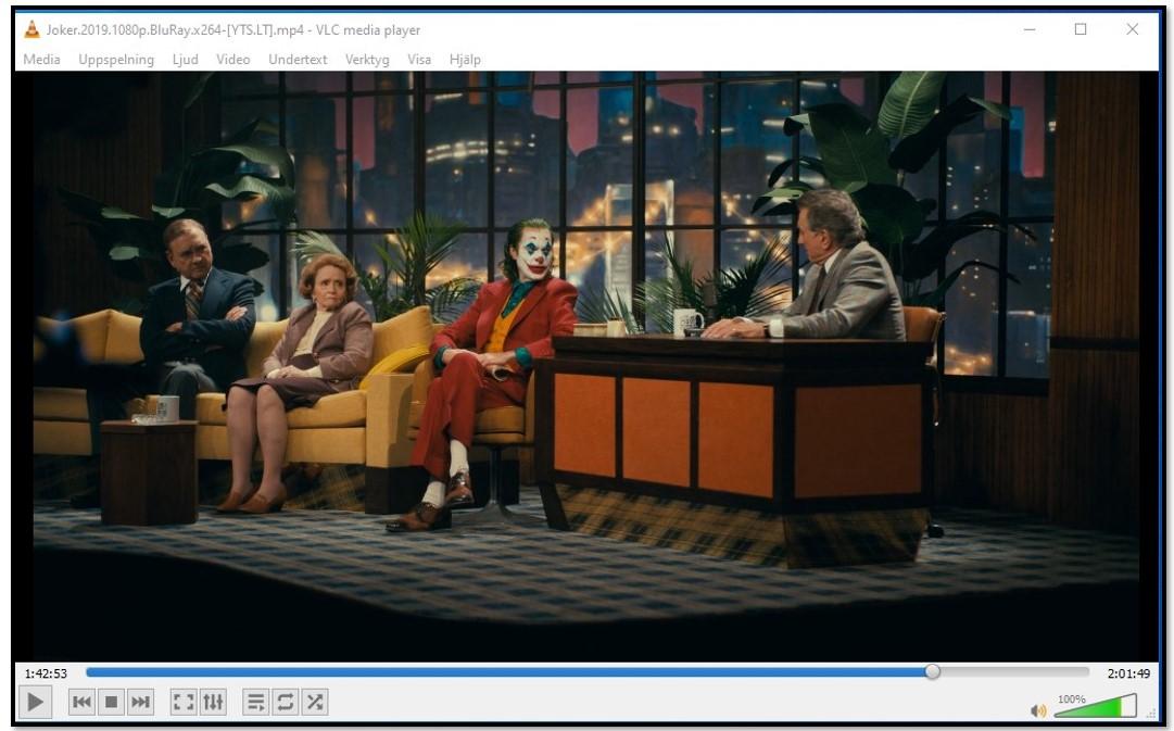 Titta på videor på VLC