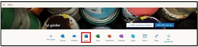 Office 365'i çevrimiçi ücretsiz edinin