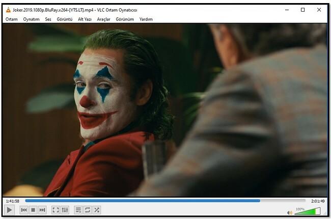 VLC'de video izleme