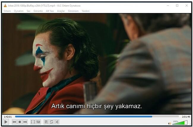 VLC Media Player'da Altyazıyı Görüntüleme
