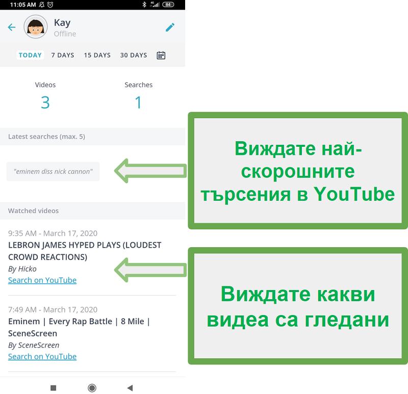 Qustodio Youtube Мониторинг