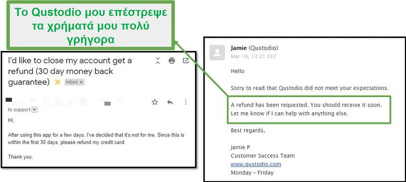 Υποστήριξη πελατών Qustodio