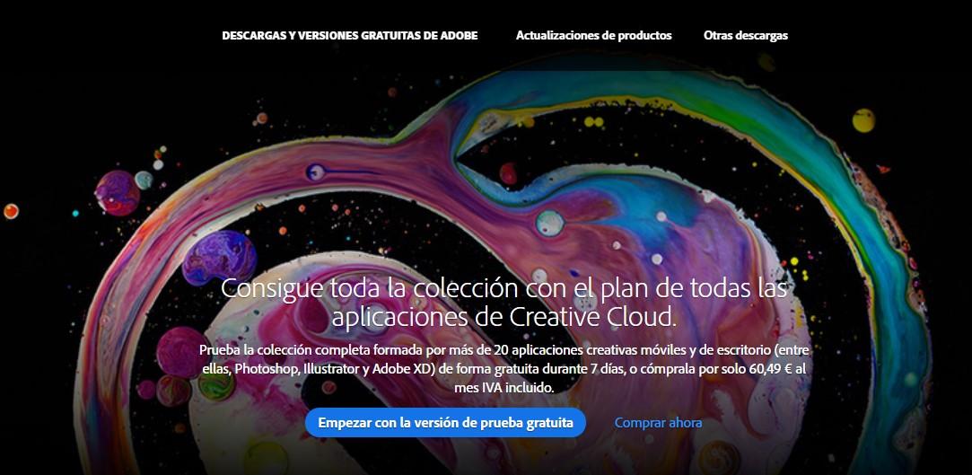 Cómo obtener una cuenta gratuita de Creative Cloud