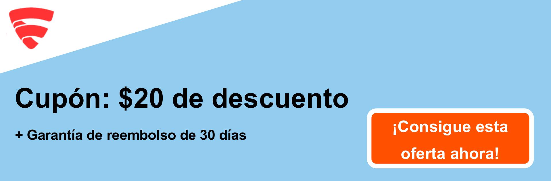 Cupón FSecureFreedome - $ 20 de descuento