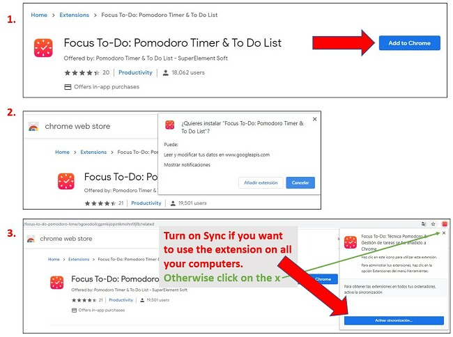Pasos para agregar extensiones a Google Chrome