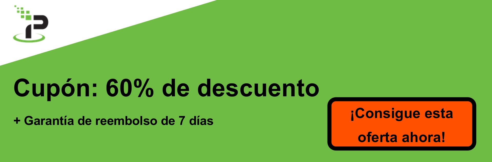 Banner de cupón IPVanish: 60% de descuento