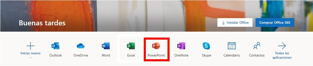 Basado en navegador de PowerPoint