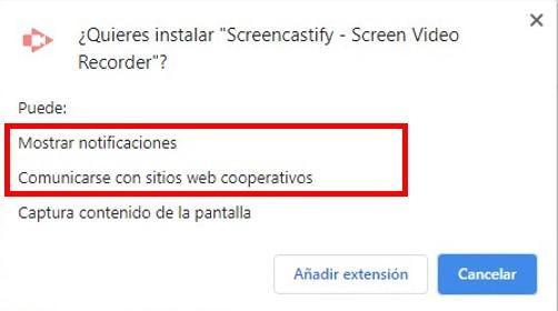 Aprobar permisos para extensiones de Google Chrome