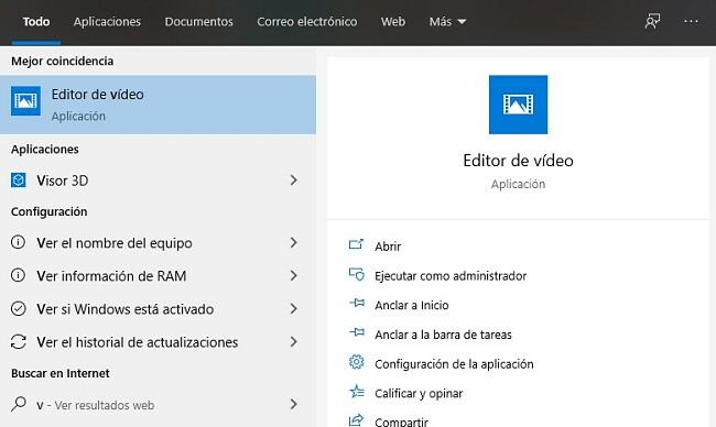 Editor de video abierto