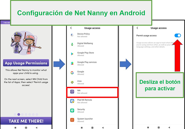 Net Nanny para Android