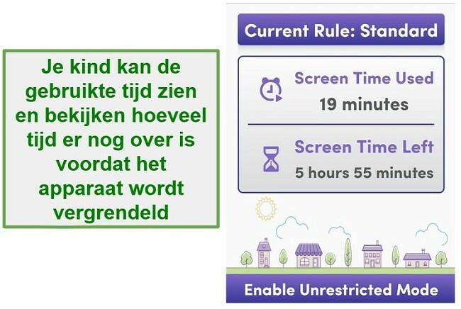 Net Nanny administra el tiempo frente a la pantalla