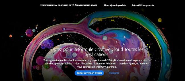 Comment obtenir un compte Creative Cloud gratuit