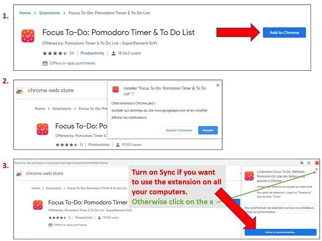 Étapes pour ajouter des extensions à Google Chrome