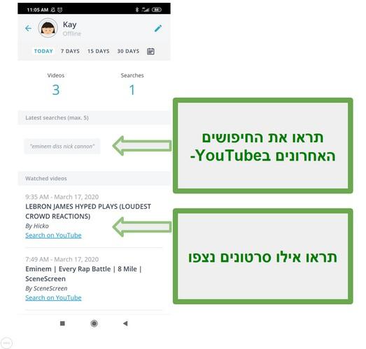 ניטור Youtube