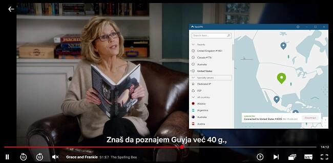 NordVPN surađuje s Netflix USA