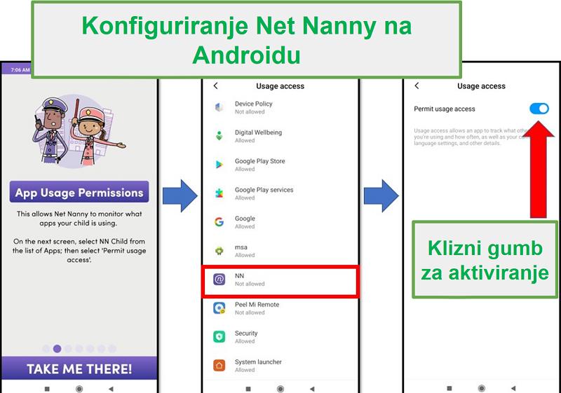 Čista dadilja za Android