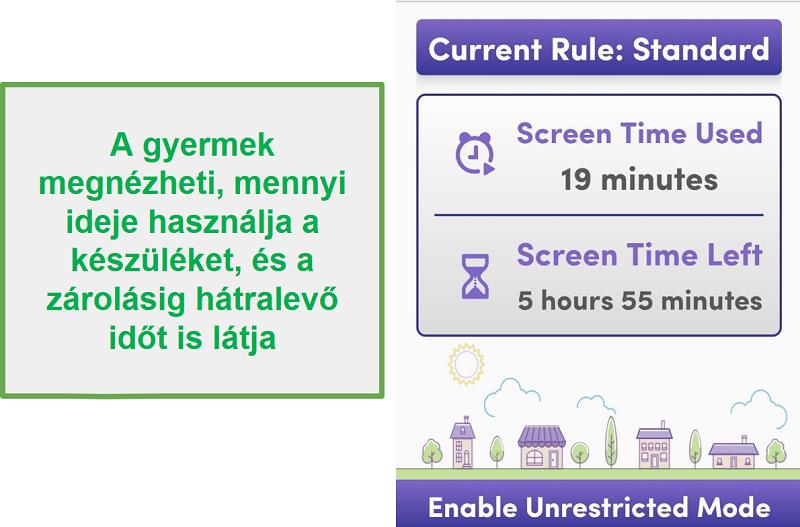 A Net Nanny kezeli a képernyőidőt
