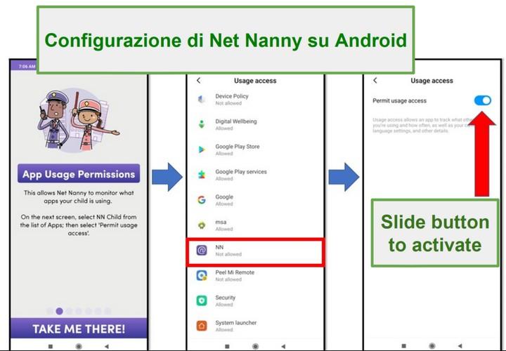 Net Nanny per Android