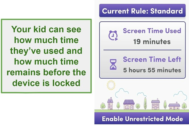 Net Nanny manage screeb time