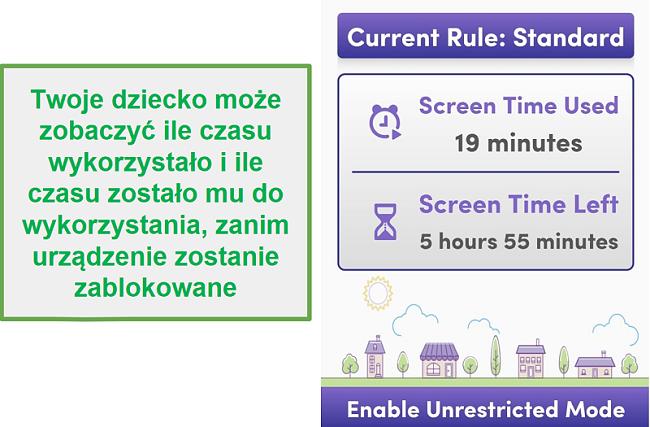 Net Nanny zarządza czasem przed ekranem