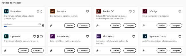 Baixe e instale o Adobe Photoshop