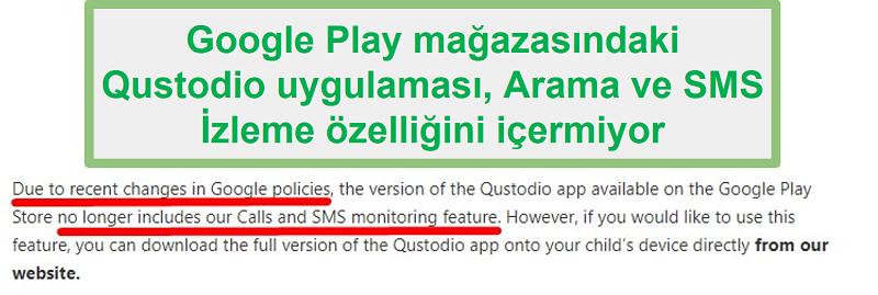 Google Play Qustodio pravila