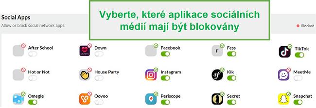 Mobilní monitorování sociálních sítí