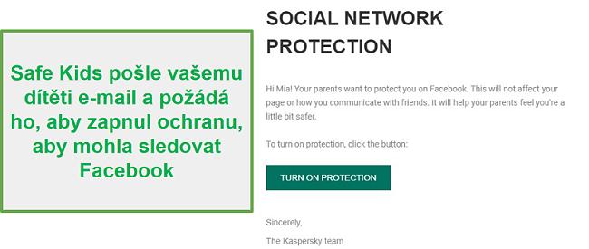 Monitorování sociálních sítí Safe Kids